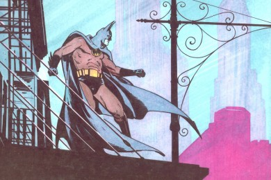 Batman - Comic Art