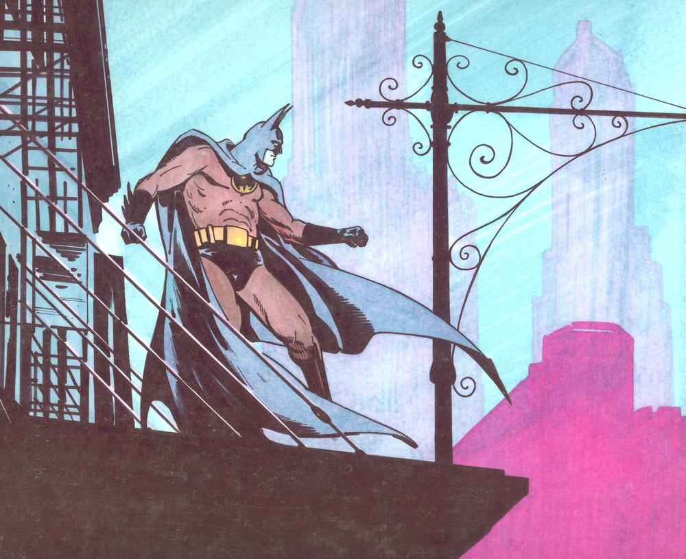 Batman Trevor Goring Art