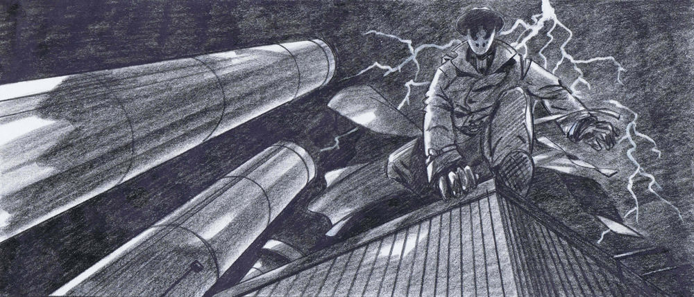 Watchmen Trevor Goring Art