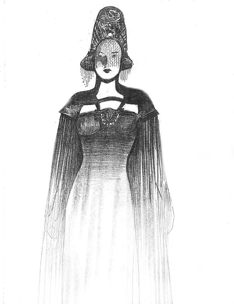 White Witch Trevor Goring Art